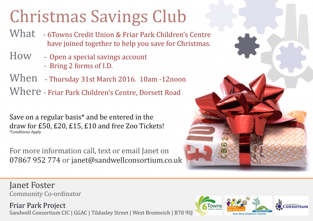 christmas savings club at friar park   sandwell consortium
